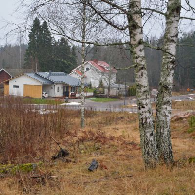 Hus på Majberget i Borgå
