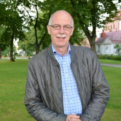 Thomas Elfgren, kriminalöverkommissarie och fullmäktigeledamot från Sibbo.