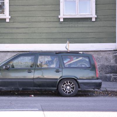bil som används som bostad i borgå 01.09.16