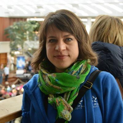 Annika Richard, projektledare för Skolmusik.