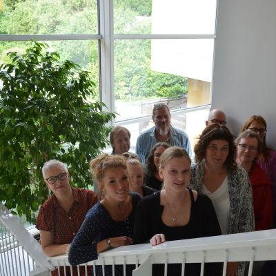 Kulturparlamentets arrangörer.