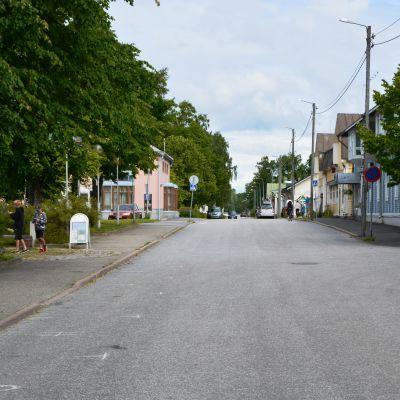 Huvudgatan i Kaskö.