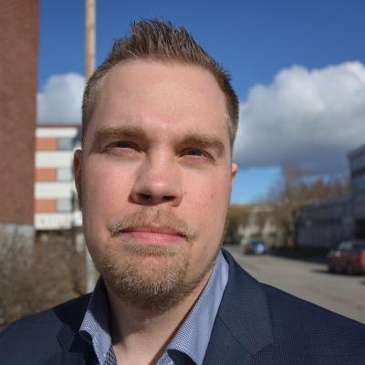 Nicklas Sandström, landstingsråd för moderaterna i Västerbottens läns landsting.