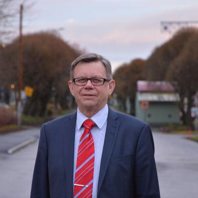 Landskapsdirektör Olav Jern från Österbottens förbund.