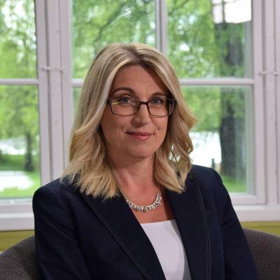 Porträttbild på May Wikström