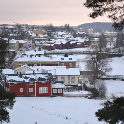 borgå nationalstadspark, gamla stan - 16.01.15