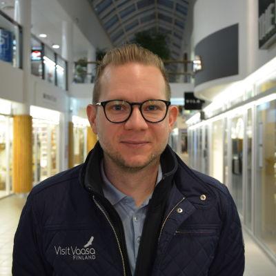 Magnus Söderström, utvecklingschef på Visit Vaasa.