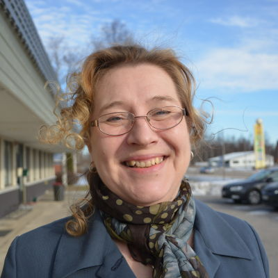 Christina Båssar, kommundirektör i Korsnäs.