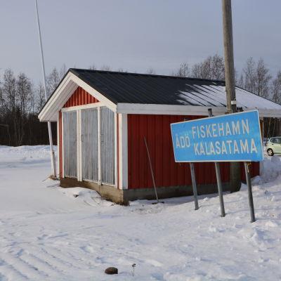 Ådö fiskehamn i Jakobstad.