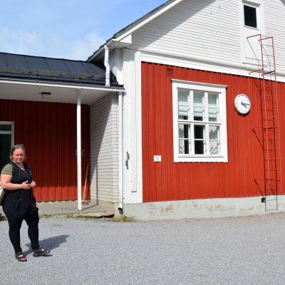 Emma Lill-Their, rektor vid Kolinan koulu.