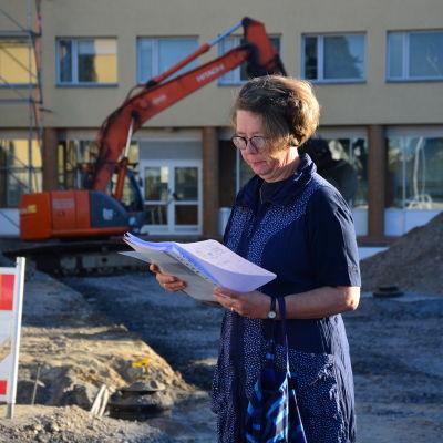 Ulla Penttinen är personalens kontaktperson för Medibothnia projektet.