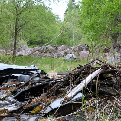 Mätäjärvi gamla soptipp i Borgå
