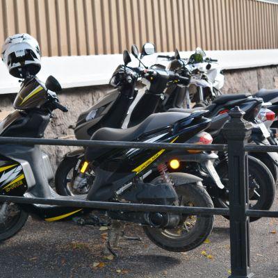 Mopedparkering av Borgå