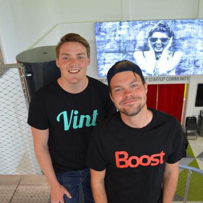 Otto Trapp och Matti Tarmio.