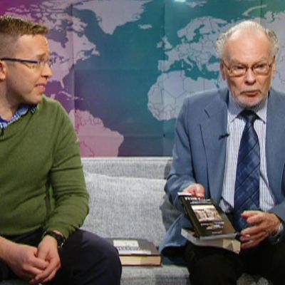 Ilari Sääskjärvi ja Anto Leikola.
