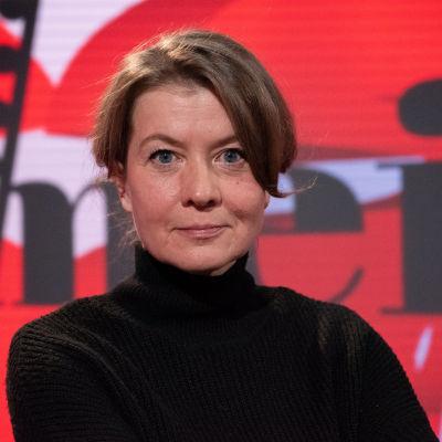 Viimeinen sana ohjelma, vieraana kirjailija ja toimittaja Jeanette Björkqvist.