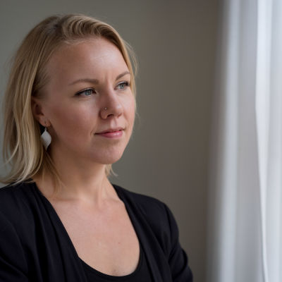 Porträtt av Carolin Ahlvik-Harju