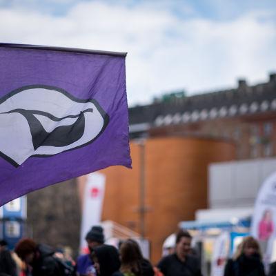Piraattipuolueen lippu
