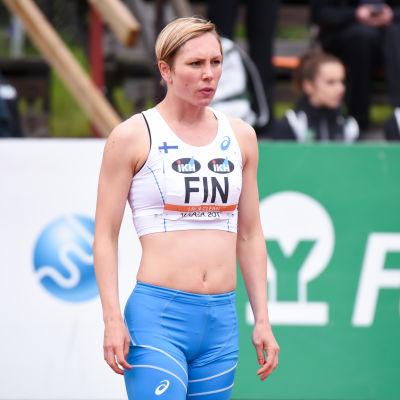 Linda Sandblom, lag-EM 2017.