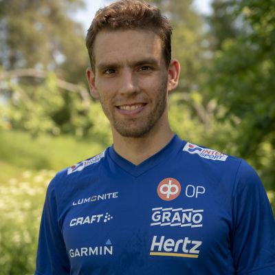 Fredric Portin Suomen suunnistusmaajoukkueen päävalmentaja