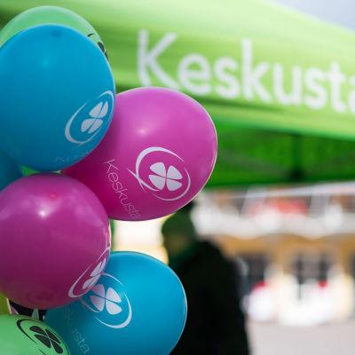 Keskusta kampanjoi kuntavaali 2017 Helsinki