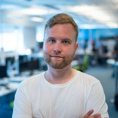 Simon Karlsson på Svenska Yle