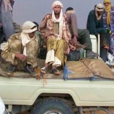 Islamistikapinallisia Malissa.