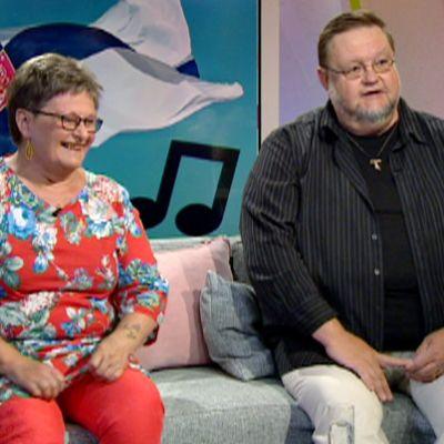 Leena Aarnipuu ja Risto Nordell.