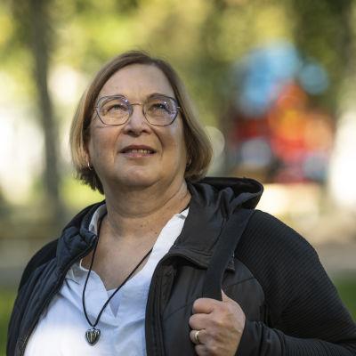 Mikkelin kriisikeskuksen johtaja Helena Pohjavirta
