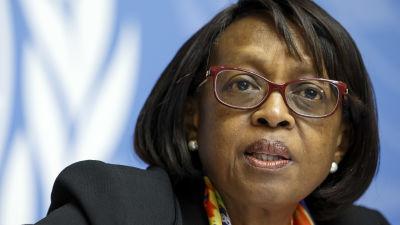 Matshidiso Moeti, WHO:s regionschef för Afrika.
