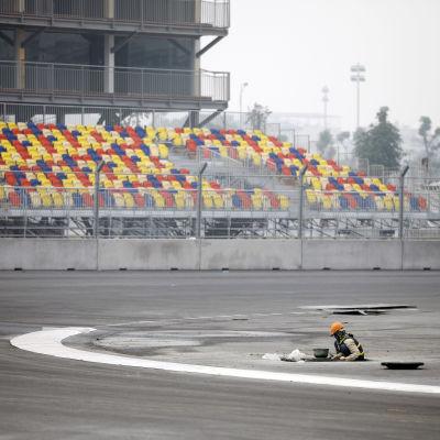 Formel 1-tävlingen i Vietnam inhiberas.
