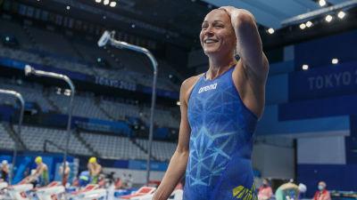 Sarah Sjöström i OS.