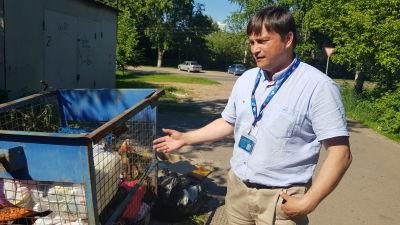 Vjatjeslav Jegorov, rysk aktivist.