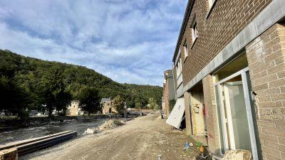 Ett övergivet hur i den belgiska staden Trooz.