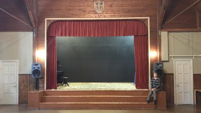 Teaterscenen på Solhem.