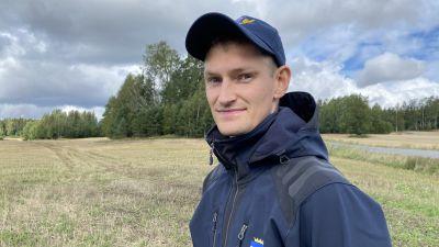Emil Hästbacka är växtodlingsrådgivare vid Nylands svenska lantbrukssällskap NSL.