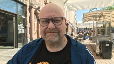 Peter Ehrström, forskningschef i regionalvetenskap på ÅA i Vasa.