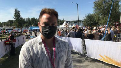 Tommi Mäki på Vaasa festival 2021.