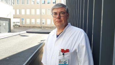 Asko Järvinen är infektionsöverläkare vid Mejlans sjukhus i Helsingfors.