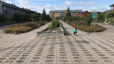 August Eklöfs park i Borgå.
