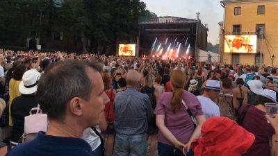 Festivalpublik på DBTL i Åbo.