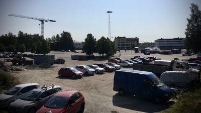 Wasa Stationin alue Vaasassa