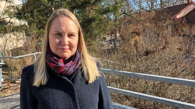 Turun tartuntataudeista vastaava lääkäri Jutta Peltoniemi.