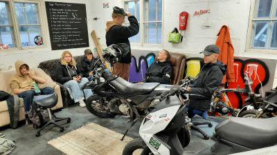 Mopedverkstaden i Ingå