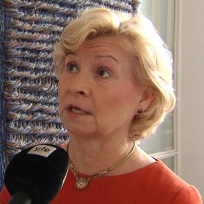 Sirpa Huuskonen är personaldirektör för ISS Palvelut