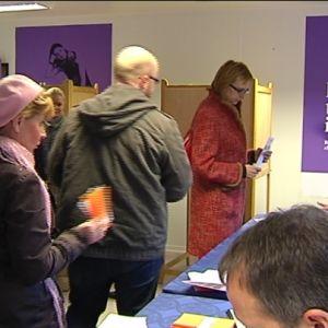 I Helsingfors gavs över 20 000 förhandsröster
