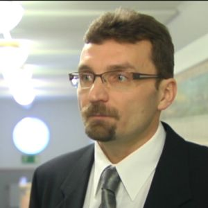 Rektor Jyrki Kaarila vid Klemetskog skola i Tusby.