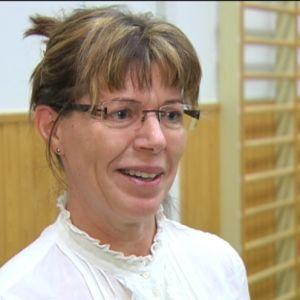 Bettina Hiltunen är lärare i Klemetskog skola