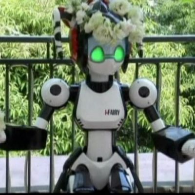 Världens första robotpräst