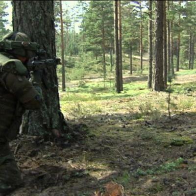 Nordic Battle Group tränar